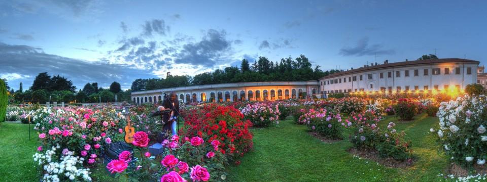 Roseto Villa reale Notturni Musicamorfosi © Nico Cavallotto